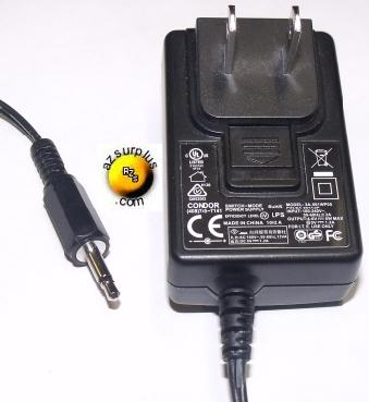 CONDOR 3A-061WP05 AC ADAPTER 4.6VDC 1.2A ITE POWER SUPPLY