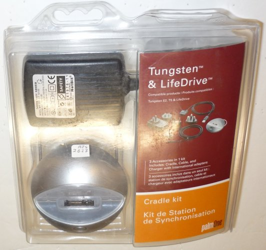 PALM 3199WW CRADLE KIT HANDHELDS TUNGSTEN & LIFE DRIVE E2 T5 T|
